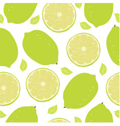Lime pattern vector