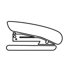 Stapler black color icon vector