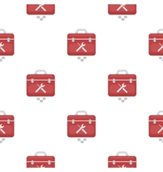 Toolbox icon in cartoon style isolated on white vector image