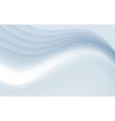 Transparent soft futuristic satin swoosh border vector