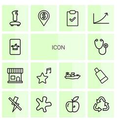 14 icon icons vector