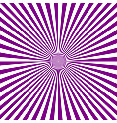 Abstract burst background from radial stripes vector