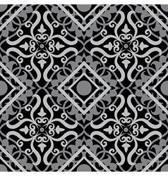 celtic pattern black vector image