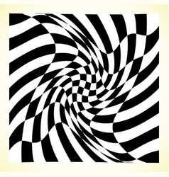 Checkered pattern chess board checker board with vector