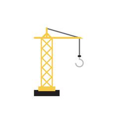 crane icon design template isolated vector image