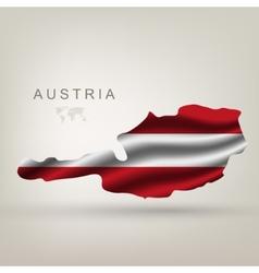 Flag austria as country vector