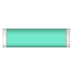 Fresh gum stick mockup realistic style vector