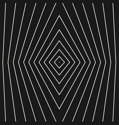 Geometric seamless pattern thin refracted lines vector