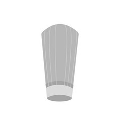 gray chef hat sign vector image