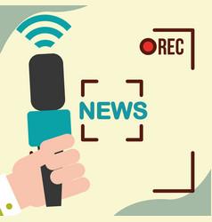 News communication relate vector