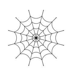 Spider web clip vector