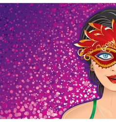 Feast Carnival Background vector image vector image