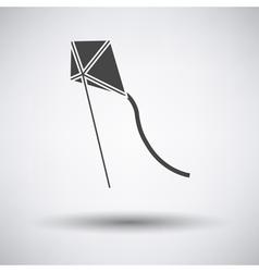 Kite in sky icon vector image