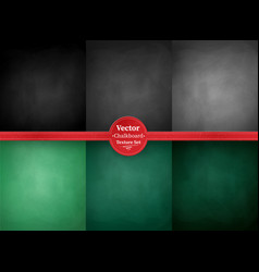 school chalkboard backgrounds vector image vector image