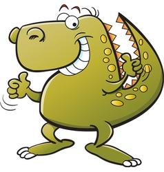 Cartoon Tyrannosaurus Rex vector