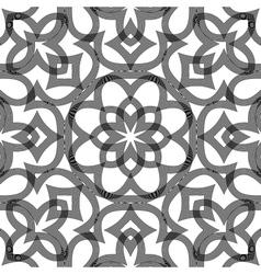 Design seamless monochrome decorative pattern vector