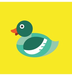 Duck Icon Animal vector image