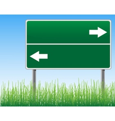 Empty signpost vector