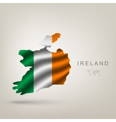 flag ireland as a country vector image