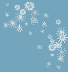 new year blue background vector image