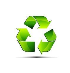 renewable green vector image