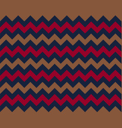 Zigzag pattern seamless zig zag background color vector