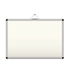 blank whiteboard vector image vector image