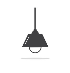 lamps modern icons vector image