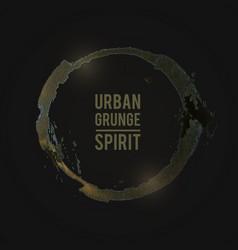 Grunge-yellow vector