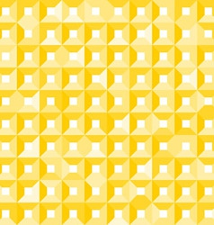 Seamless Yellow Texture vector image vector image