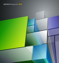 abstract architecture background vector image