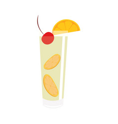 Abstract delicious coctail vector
