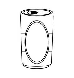 Can beverage icon image vector