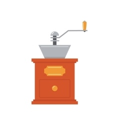 Coffee-mill Simplified vector image