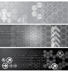 Digital banners vector image