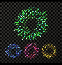 firework bursting explode backdrop vector image