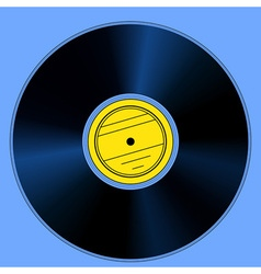 Gramophone record vector