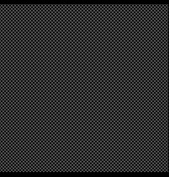 grid of thin black lines on 45 degrees on black vector image