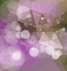 Polygonal abstract geometry background vector image