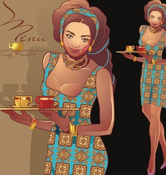 Waitress5 vector