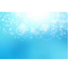 abstract sunlight blurred blue sky background vector image