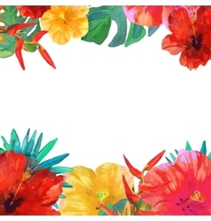 Greeting card invitation banner frame for your vector