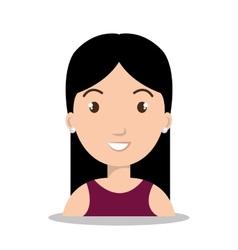 person avatar design vector image vector image