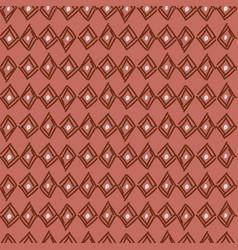 Rhombus hand drawn abstract shapes seamless vector