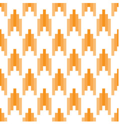 seamless geometric pattern with striped lines vector image