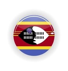 Swaziland icon circle vector image