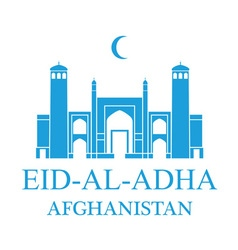 Eid al adha afghanistan vector