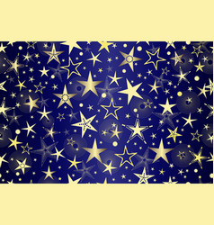 00000000 gold stars sky vector image