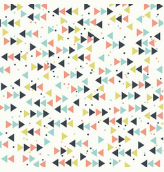 abstract retro background with arrows vintage vector image