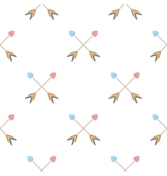 Arrow icon cartoon pattern gay icon from the big vector